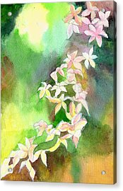 Blessings 1 Acrylic Print by Anil Nene