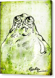 Blob Monster Acrylic Print