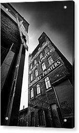 .block Print... Acrylic Print by Russell Styles
