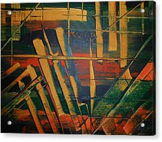 Blocked-2 Acrylic Print by Lisa Williams