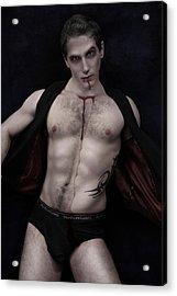 Blood Feast Acrylic Print by John Clum