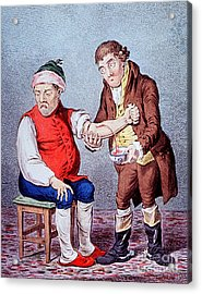 Bloodletting-1804 Acrylic Print by Science Source