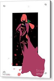 Bloody Fashion 888- Artwork Acrylic Print by Frank  Gulsftream