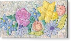 Bloomin' Favorites Acrylic Print by Denise Hoag