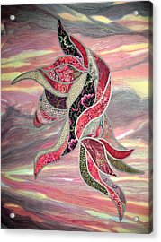 Blowing In The Wind Acrylic Print by Doria Goocher