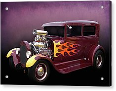 Acrylic Print featuring the photograph Blown 28 Tudor by Bill Dutting