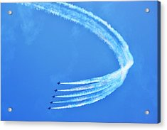 Acrylic Print featuring the photograph Blue Angels by Kelly Reber