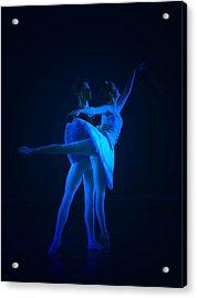 Blue Ballet Acrylic Print by Jenn Harris