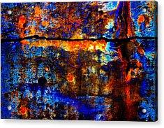 Blue Bayou Acrylic Print by David Clanton