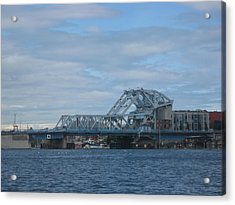 Blue Bridge Victoria Acrylic Print