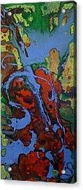 Blue Cello Acrylic Print