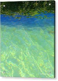 Blue Edge Acrylic Print