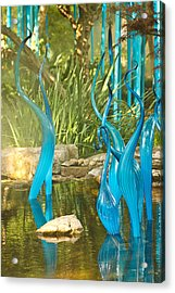 Blue Haze Acrylic Print by Jan Canavan