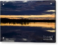 Blue Hour Acrylic Print by Heiko Koehrer-Wagner