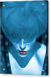 Blue Kiss Acrylic Print