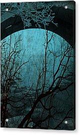Blue Lagoon  Acrylic Print by Jerry Cordeiro