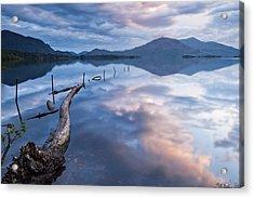 Blue Moment Acrylic Print by Brendan O Neill