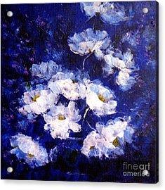 Blue Mood Acrylic Print by Madeleine Holzberg
