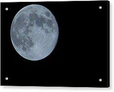 Blue Moon 8 31 12 Acrylic Print