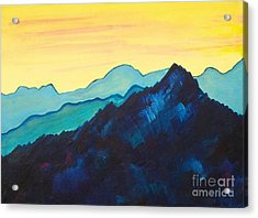 Blue Mountain II Acrylic Print