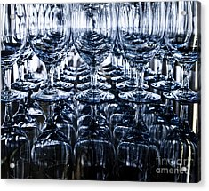 Blue Reflection Acrylic Print by Chavalit Kamolthamanon