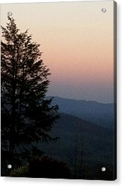 Acrylic Print featuring the photograph Blue Ridge Mountains by Elizabeth Coats