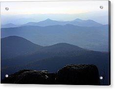 Blue Ridge Mountains Acrylic Print by Emanuel Tanjala