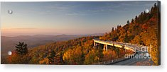 Blue Ridge Parkway Linn Cove Viaduct Acrylic Print by Dustin K Ryan