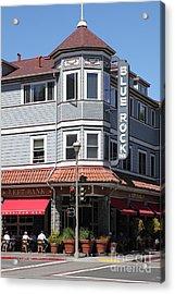 Blue Rock Inn - Larkspur California - 5d18477 Acrylic Print by Wingsdomain Art and Photography
