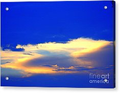 Blue Skys Acrylic Print by Bret Worrell