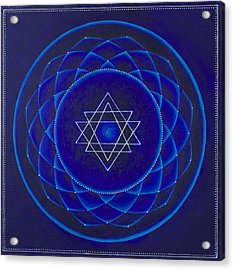 Blue Space Acrylic Print