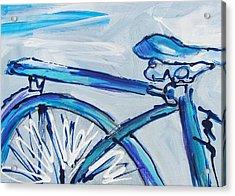 Blue Streak Acrylic Print
