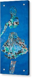 Blue Sway Acrylic Print