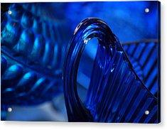 Blue Wave Acrylic Print by Eamon Forslund