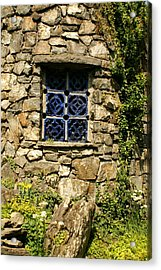 Blue Window Acrylic Print by Margaret Steinmeyer