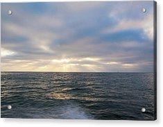 Bluegrey Sunset Acrylic Print