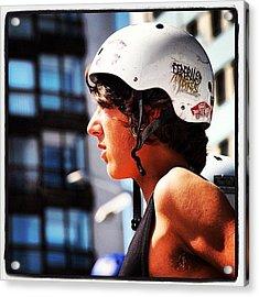 Bmx O Marisquiño 2011 #bmx #parkour Acrylic Print