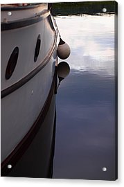 Boat At Rest 1 Acrylic Print by Jim Moore