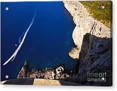 Boat In The Sea Acrylic Print