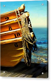 Boat Ropes Acrylic Print