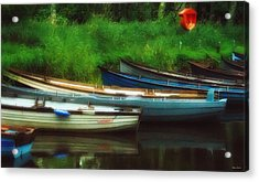 Boats At Rest Acrylic Print