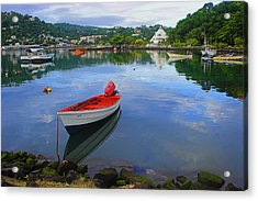 Acrylic Print featuring the photograph Boats-castries Harbor- St Lucia by Chester Williams