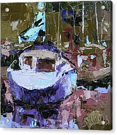 Boats Of A Different Color Acrylic Print