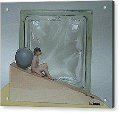 Bob And Glass Acrylic Print