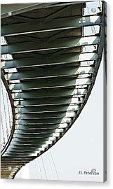Bob Kerrey Pedestrian Bridge Acrylic Print by Edward Peterson