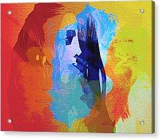 Bob Marley 4 Acrylic Print by Naxart Studio