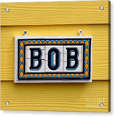 BOB Acrylic Print by Tanya  Searcy
