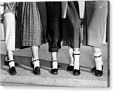 Bobby Socks, Ankle High, Often Thick Or Acrylic Print by Everett