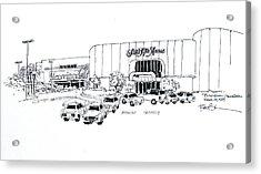 Boca Raton Town Center Mall Acrylic Print by Robert Birkenes
