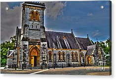 Bodalla All Saints Anglican Church  Acrylic Print by Joanne Kocwin